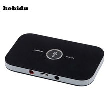 kebidu Aux 3.5mm Hifi 2 in 1 Bluetooth4.1 Audio Transmitter Receiver Wireless A2DP Bluetooth Audio Adapter Portable Audio Player(China)