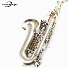 Saxophone Saxo Soprano Bb Wind Instrument Sax Western Instruments soprano saxofone Professional Musical Instrument for child(China)