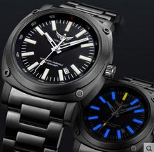 Yelang Men Military Watch Automatic Titanium Alloy Tritium Light T100 JapanTop Movement 24Jewels WR100M Tritium Mechanical