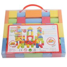 Hot Mixed Colors EVA Puzzle Building Toy For Kids Children Educational educational toys Christmas gifts for kids toddler A676