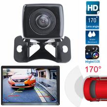 DC12V CMOS Waterproof Night Vision Car Rear View Camera Auto Adjustable Butterfly Parking Reversing Camera(China)