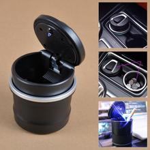 DWCX Car Ashtray with Special Storage Box Blue LED For BMW 1 3 5 7series X1 X3 X5 X6 E70 E71 F30 F20 F10 F01 F13 F15 # Tracking(China)