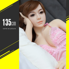 135cm Real Sex Dolls Lifelike Silicone Sex Dolls Sexy Toys for Men Big Breast Anal Vagina Pussy Doll Masturbation Products
