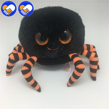 A TOY A DREAM Original 14 cm spider Big Eyes Plush Toy Doll MiniColorful Plush Black Bat 15cm Baby Kids Bats Best Gift For Kids
