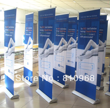 Roll Up / Pull Up Banner Stands | Retractable Banner Stand Displays(free printing)