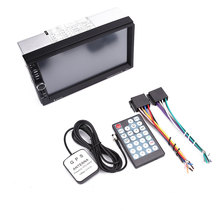 "7"" inch HD Touch Screen Car FM Radio Bluetooth MP5 Player GPS Navi Phone Call(China)"