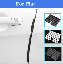 2017 New Car Door Edge Guards Pretcetive Protection Strip Trim Molding for Fiat 500 500X 600 Albea Barchetta Bravo Croma Linea