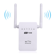 750Mbps Wifi Router Wireless Original Mini Router Dual-Band 2.4/5GHz Wifi Repeater Signal Amplifier 802.11ac/b/g/n Wi-fi Router