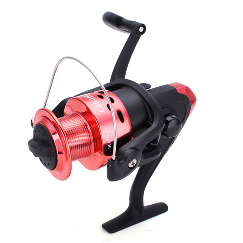 Anti-Reverse Spinning Fishing Reels 5.2:1 Right Hand/Left Hand C40/60 Excellent Line Ultra-Thin Streamline Folding Aluminum Arm(China (Mainland))