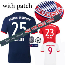 2017 2018 Bayernes Muniches jersey 17 18 Home Away football camisetas Thai AAA shirt survetement football Soccer jersey(China)