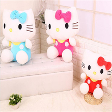 "1pcs New Arrival  20cm(8"") Lovely Hello Kitty Plush Toys For Children Soft Plush Toy  Hello Kitty Doll  Z66"