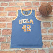 2017 New Arrive NCAA #42 Kevin Love Blue Basketball Jersey Embroidery Logos For Men Bruins Basketball Jerseys Free Shipping(China)