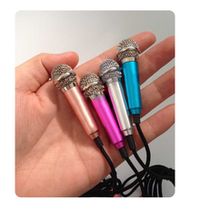 3.5mm Super Mini Condenser Microphone Mic for Computer Laptop Notebook Tablet PC Skype Conference Mobile Cell   Phone Recording