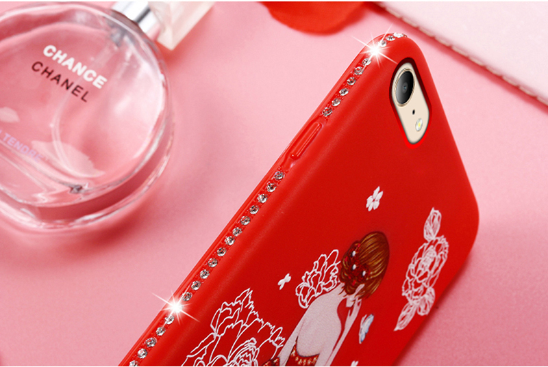 dress girl silicone case iphone 6 s 7 8 plus (14)