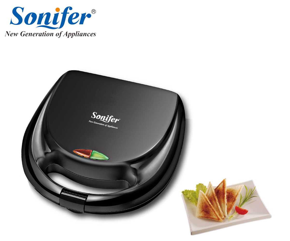 220V Household Electric Sandwich Maker Electric Sandwich Iron Machine Bubble Egg Cake Oven Breakfast Machine Sonifer<br>