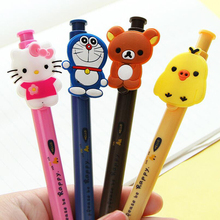 4pcs / Pack , Cute Cartoon Animal Whole Body Series Of Ball Point Pen, Creative New Student Pen