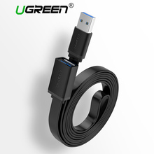 Ugreen USB Extension Cable USB 3.0 2.0 Cable Male to Female Data Sync Transfer Extender Cable for Computer Cable USB Extension(China)