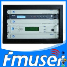 Fmuser 50W VHF UHF All Solid State TV Signal Broadcast Transmitter Digital TV Station Broadcasting Equipment