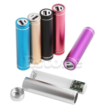 1 PC Metal 5V USB Power Bank Case Kit 1X 18650 Battery Charger Box DIY For Cell Phone