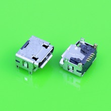 50pcs Micro USB 5pin B type Female Connector, Widely used in tablet, phones and PDA Micro USB Jack Connector Charging Socket(China)