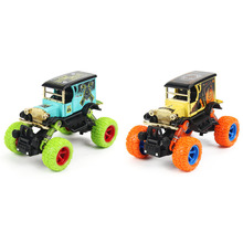 1: 34 New Mini Alloy Metal Diecast Car Baby Toys Kids Pull Back Off-road Wecker Car Model Classical Vehicle Toy for Children