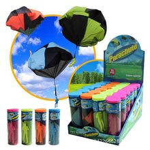 Kids Hand Throwing Parachute Toy Play Game For Children's Educational Parachute With Figure Soldier Child Outdoor Fun & Sports