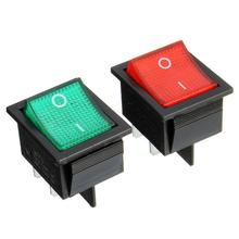 Hot Mini Latching Rocker Switch Power Switch I/O 4 Pins 16A 250VAC 20A 125VAC KCD4 Free Shipping