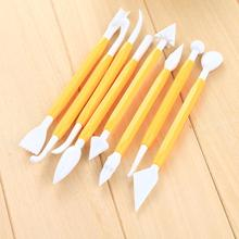 New 8PCS Modelling Tools Set Cake Cookie Decorating Baking Sugar Craft Sculpting Pastry Carve Good Quality