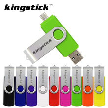 Colorful USB Flash Drive OTG Adapter Plastic Pendrive High Speed Pen Drive for Smart Phone PC Android OTG usb memory USB Stick(China)