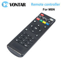 1pc M8N Remote Controller for M8N TV Box XBMC Android TV Box high quality replacement Remote Control for M8N Box Free Shipping(China)