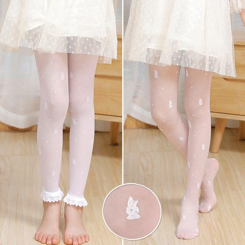 Kids Girls Ballet Dance Tights Summer Thin Anti-Mosquito Pantyhose Stockings