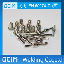 100PCS PT31 PT-31 LG40 Nickel Electrode Tip Nozzle Plasma Cutting Cutter Consumables(China)