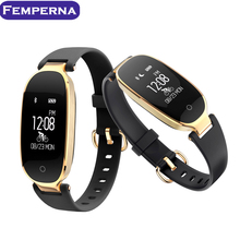 Femperna S3 Bluetooth Bracelet Pedometer Fitness Tracker Step Counter Smart Band Heart Rate Monitor IP67 Waterproof Wristband