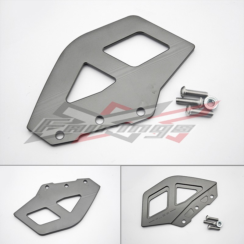 FREE SHIPPING CNC Titanium CHAIN GUARD BRACE fit  for HONDA XR250 CRF250 L/M O2<br>