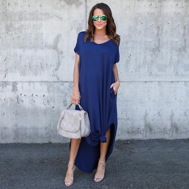 Igapäevane kleit taskutega