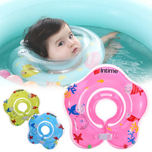 Hot Inflatable Swimming Ring swimming baby accessories baby swim neck ring baby Safety infant neck float circle for Baby bathing(China)