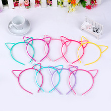 black cat ears head bands for kids fashion for Women Girls Hairband Sexy Self Headband party Photo Prop Animal Hair Accessories