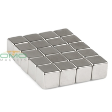 20pcs N50 Super Strong Block Cube 10mm x 10mm x 10mm Rare Earth Neodymium Magnet