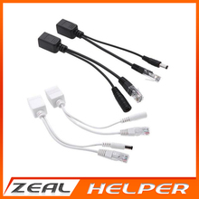 POE Adapter cable Tape screened POE switch Cable  POE Splitter Injector Power supply 12-48v synthesizer separator combiner