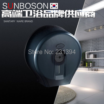 Large round waterproof plastic toilet visualization carton Toilet paper holder Large cartons Towel rack Broader tissue boxes<br><br>Aliexpress
