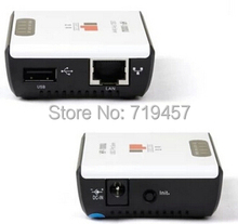 FREE SHIPPING HP-1000U USB print server shared printer