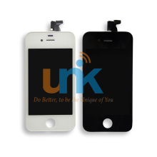Black/White For iPhone 4 4S Screen Assembly Touch Digitizer LCD screen for iphone 4 display Frame Pantalla Replacement