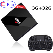 2017 H96 Pro Plus Android 7.0 TV Box Amlogic S912 Octa Core 64Bit RAM 3GB ROM 32GB 2.4G&5.0GHz WIFI BT 4.1 HDMI 4K KODI 17.0