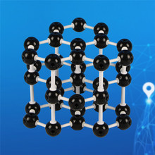 DIY Graphite Crystal Structure Model Toy Model Toy Building Toy Plastic Blocks Educational Toys For Kids Gift(China)