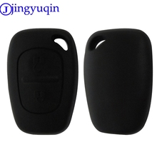 jingyuqin 50ps/lot 2 Buttons Remote Car Key Shell Styling For Renault Trafic Vauxhall Opel Vivaro Nissan Primastar Flip Fob(China)