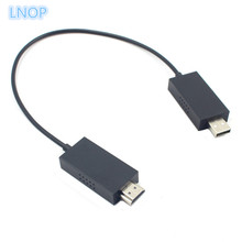 LNOP For Microsoft Wireless Display Adapter Wireless Audio/Video Extender Cable Share Laptop/Tablet/Smartphone to HDMI HD TV