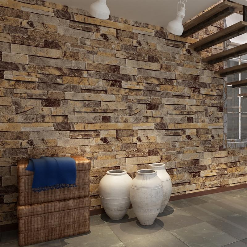 HANMERO 3D Effect Brick Pattern Wall paper Embossed Vinyl Waterproof PVC Wallpaper papel de parede Living Room QZ0456<br>
