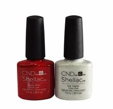 CND Shellac UV Gel Polish Ice Vapor, Ruby Ritz Without Box