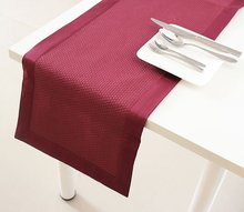 Free shipping Poly/Cotton Table Runner Different Colors Table Runner P519(China)