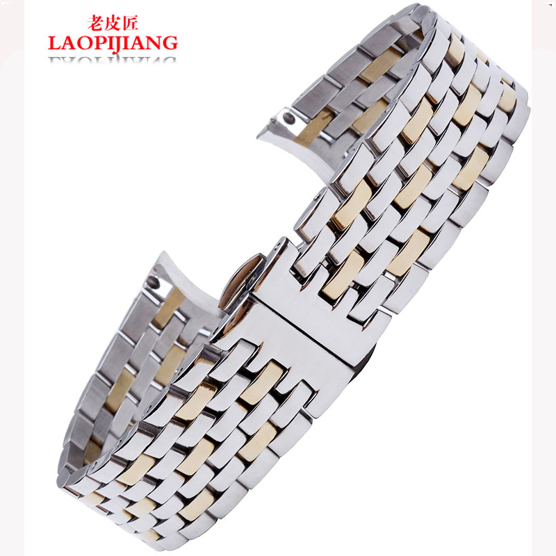 liaopijiang alternative male stainless steel bracelet watch butterflies flying series accessories 20mm<br><br>Aliexpress